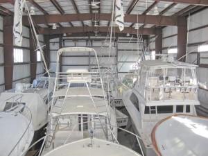 Heated Yacht Storage