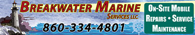 Breakwater Marine Services Onsite Mobile Repairs Service Maintenance 860-334-4801